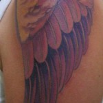 1 wings by Guido Baldini Lost Cowboy Tattoos USA 150x150 The skin of an angel