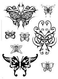 Tatuaggi con Farfalle