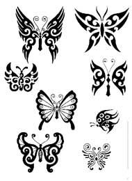 Tatuaggi Tribali di Farfalle