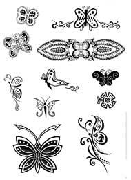 Tatuaggi Particolari di Farfalle