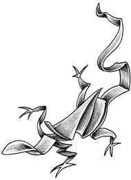 Tatuaggio di un Geco Sottile