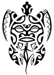 Tatuaggio di un Geco e una Tartaruga