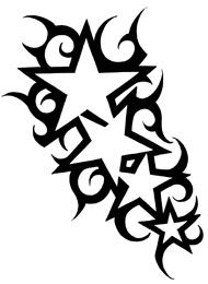 Tatuaggio di Stelle Particolari