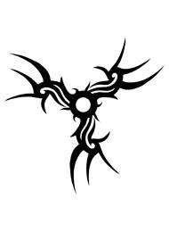 Disegno di un Tatuaggio Triscele