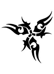 Disegno di un Tatuaggio Triskel
