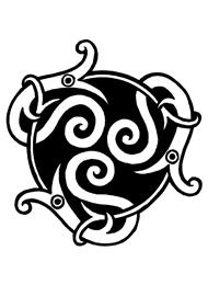 Disegno di un Tatuaggio Triskell con Animali