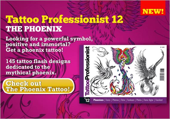 TASSELLONE 570 FENICI EN The Phoenix, an unfading tattoo