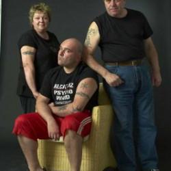 Una famiglia tatuata