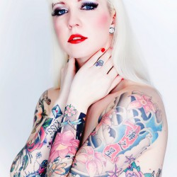 Tattoo Cover Model: Miss IVI