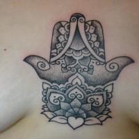Calipso tattoo chest 200x200 Tattoo Artist gallery: Calypso
