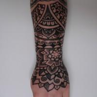Calypso dotwork arm 01 200x200 Tattoo Artist gallery: Calypso