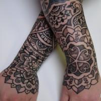Calypso dotwork arm 05 200x200 Tattoo Artist gallery: Calypso