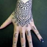 Calypso dotwork hand 200x200 Tattoo Artist gallery: Calypso