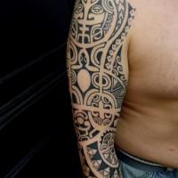 Calypso maori arm 01 200x200 Tattoo Artist gallery: Calypso