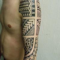 Calypso maori arm 12 200x200 Tattoo Artist gallery: Calypso