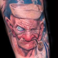 Gallery Popeye Alex de Pas 200x200 Tattoo Artist gallery: Alex De Pase