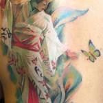 Geisha AlexDePase 150x150 Tattoo Artist gallery<br>Alex De Pase