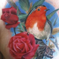 Redbreast tattoo