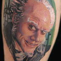 Jim Carrey tattoo