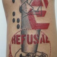 futurist pinup leg 3 200x200 Tattoo Artist gallery: Jean François Palumbo