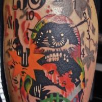 justine 200x200 Tattoo Artist gallery: Jean François Palumbo
