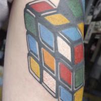 rubriks cube 2 200x200 Tattoo Artist gallery: Jean François Palumbo