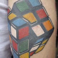 rubriks cube 200x200 Tattoo Artist gallery: Jean François Palumbo