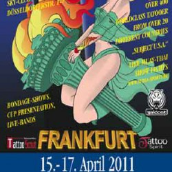 19th Tattoo Convention Frankfurt/Main