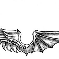 2c angel demon wings by Francesco Rosalbi 129 250x250 Disegni Tattoo
