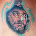 Cowboy tattoo 150x150 Tattoo artist gallery<br>Ettore Bechis