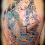 Japanese style tattoo 150x150 Tattoo artist gallery<br>Ettore Bechis