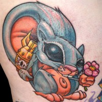 Evil Squirrel 200x200 Tattoo Artist Gallery: Jesse Smith