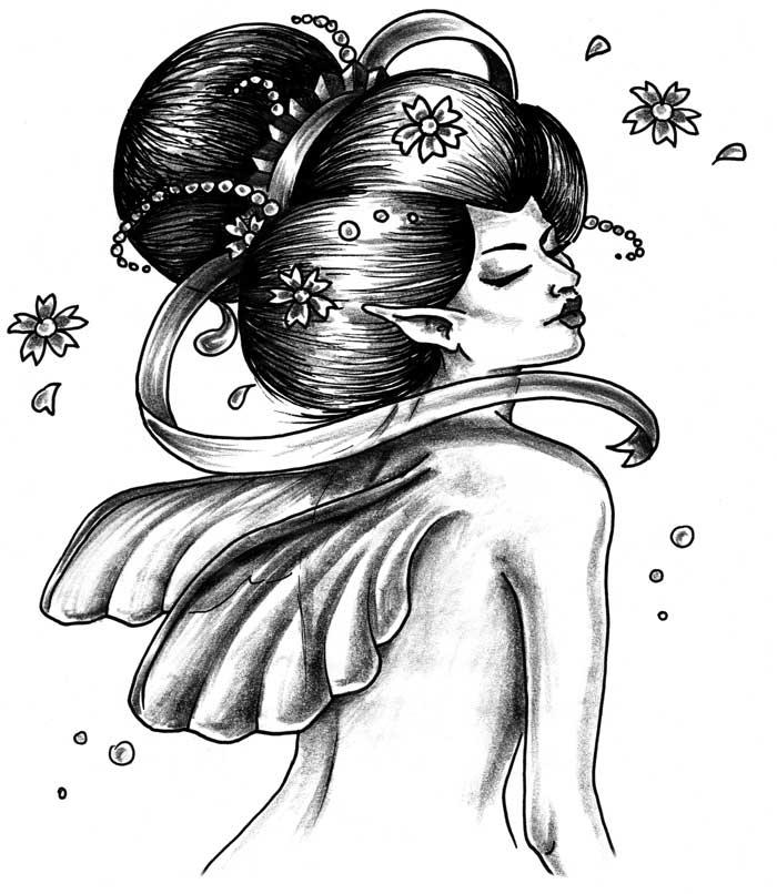 spesso Geisha tattoo - Gallery Disegni RT89