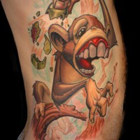 Sober Monkey 200x200 Tattoo Artist Gallery: Jesse Smith