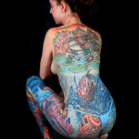 casual pose 200x200 Tattoo Artist Gallery: Jesse Smith