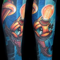 constant thinker fish 200x200 Tattoo Artist Gallery: Jesse Smith