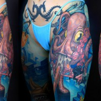 octopus 200x200 Tattoo Artist Gallery: Jesse Smith