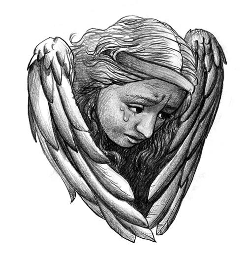 Drawings Tattoo - Angels