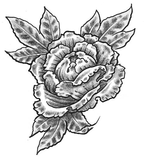 peony flower tattoo Disegni Tattoo
