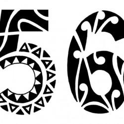 polynesian tribal numbers tattoo 250x250 Disegni Tattoo   Polinesiani