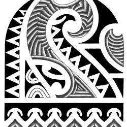 polynesian tribal tattoo 250x250 Disegni Tattoo   Polinesiani