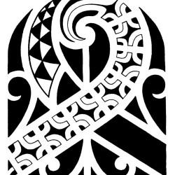 polynesian tribal tattoo2 250x250 Disegni Tattoo   Polinesiani