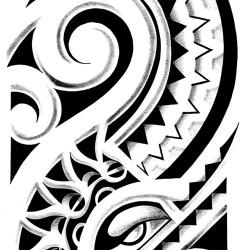 polynesian tribal tattoo3 250x250 Disegni Tattoo   Polinesiani