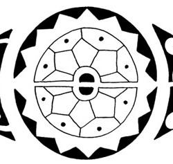 polynesian tribal tattoo4 250x237 Disegni Tattoo   Polinesiani