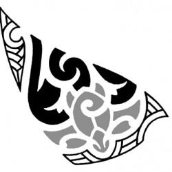 polynesian tribal tattoo5 250x250 Disegni Tattoo   Polinesiani