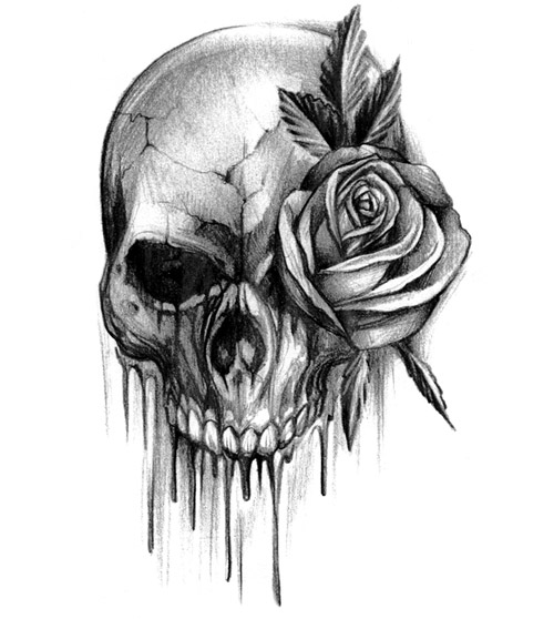 roses tribal tattoo with designs with cyborg skull bones tattoo old rose skull skull tattoo tattoo
