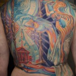 chronos ruecken 150x150 Tattoo Artist gallery<br>Osa Wahn