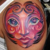 herz gesicht 200x200 Tattoo Artist gallery: Osa Wahn