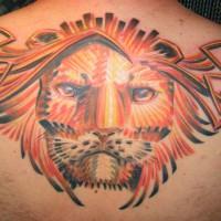 loewe ruecken 200x200 Tattoo Artist gallery: Osa Wahn
