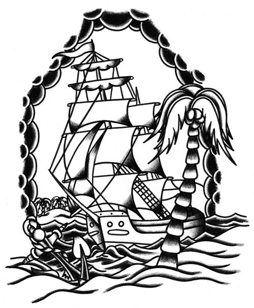 Favoloso Tattoo Old - School - Gallery Disegni   IdeaTattoo WT08